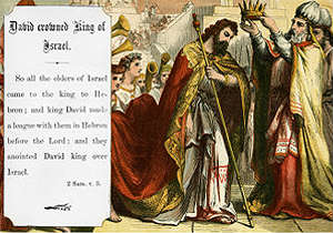 David Crowned King