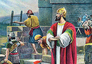 Nehemiah Rebuilding Wall