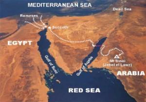 Mount Sinai map